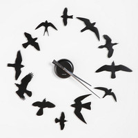 Urban Outfitters - DIY Bird Wall Clock