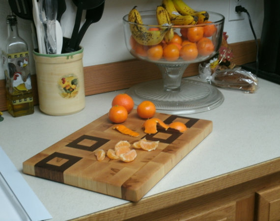 Cutting Board End Grain Maple and Edinam by BillsWoodenPleasures