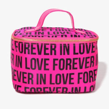 Forever In Love Cosmetic Bag