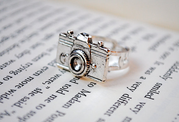 Camera Ring by KellyStahley on Etsy