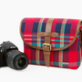 The Plaid Camera Satchel - The Photojojo Store!