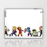 Mini Avengers Laptop & iPad Skin by Danielle Mahaffey | Society6
