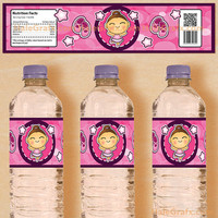 Printable Ballerina Water Bottle Labels... Customize Your Ballerina
