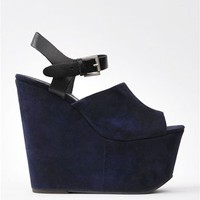 Office Wedge - Navy