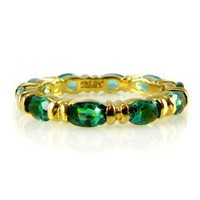 Jacqueline Kennedy's 10th Anniversary Emerald Ring at the John F. Kennedy Presidential Library and Museum's Online Store