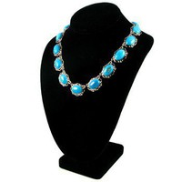 Jacqueline Kennedy's Turquoise Howlite Necklace at the John F. Kennedy Presidential Library and Museum's Online Store