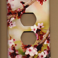 Cherry Outlet cover by TurnMeOnArt on Etsy