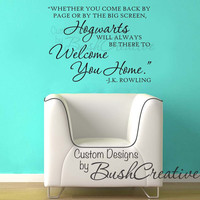 Harry Potter Quote by page or by big screen  Wall by bushcreative