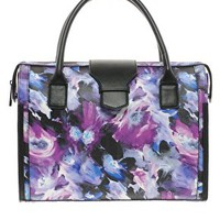 Handheld Bag With Floral Print