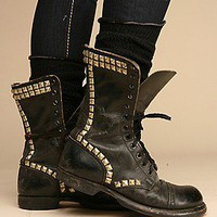 We The Free Free People Clothing Boutique > Studded Vintage Combat Boot
