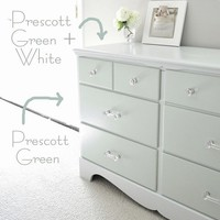 Centsational Girl   Blog Archive    Two Tone Treasure + How to Paint Furniture
