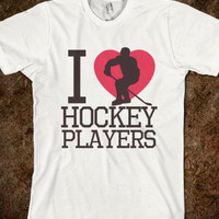 I heart hockey players - ToxicAmour - Player Apparel