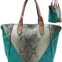 Dip In The Pool Turquoise Purse from Shopbellastyle