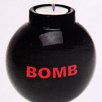 TNT Bomb Tea Light Candle Holder