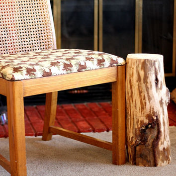 Reclaimed Wood Side Table - Shabby Chic Side Table