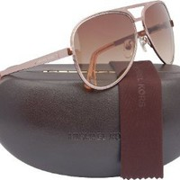 Amazon.com: Michael Kors M2060S Peyton Aviator Sunglasses Rose Gold (780) MK 2060 780: Michael by Michael Kors: Clothing