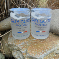 Grey Gosse Rocks Glasses by BottleCrafters on Etsy