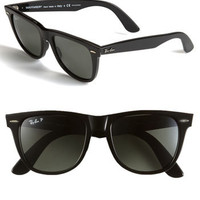 Ray-Ban 'Classic Wayfarer' Polarized 54mm Sunglasses | Nordstrom