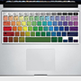 Rainbow Keyboard Apple Macbook Air / Pro Decal by NoisyBoyStore