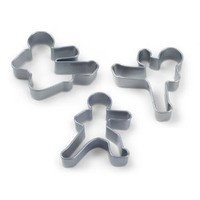 Fred & Friends Ninjabread Men Cookie Cutters: Amazon.com: Kitchen & Dining
