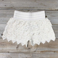 Easy Rider Shorts in Ivory, Women&#x27;s Sweet Country Clothing