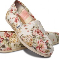 Shabby Chic Womens Classics | TOMS.com