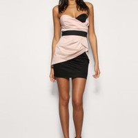 Multi Mini Dress - Bqueen Knit Strapless Modern Newest | UsTrendy