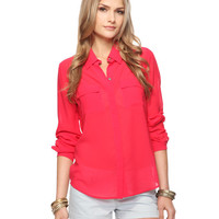 Double Pocket Shirt | FOREVER21 - 2011408502