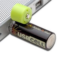 USB-Rechargable AA Batteries - HackerThings