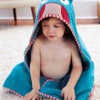Zoo hooded towel owl - Awesome Kids