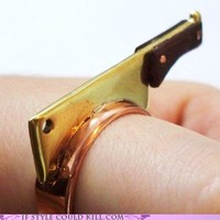 Ring of the Day: Cooking Disasters - Crazy Shoes and Cool Accessories: If Style Could Kill