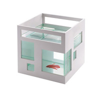 wine accessories, bird feeder, fish tank, card case, fishhotel white, fish hotel fishotel pets | Umbra