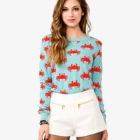 Crab Print Sweater | FOREVER 21 - 2021716745