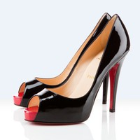 Christian Louboutin Very Prive 120mm Black Outlet - $148