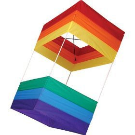 "Traditional Box Kite, 20"" x 40"""