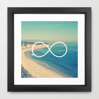 Forever Summer California Infinity Framed Art Print by RexLambo | Society6