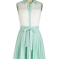 Sincerely Mint Dress | Mod Retro Vintage Dresses | ModCloth.com
