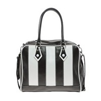 Multi Stripe Bowler Bag