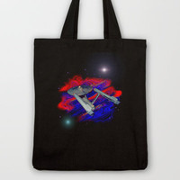Enterprise NCC 1701 Tote Bag by JT Digital Art  | Society6