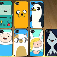 IPHONE 5 CASES Adventure time 7 case set Iphone 5 by TheCaseCrib
