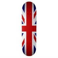 Union Jack Skate Board Decks from Zazzle.com