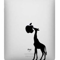 Ipad Decal - Giraffe - UK WAB Team