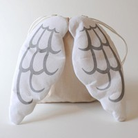 Dress Up Angel Drawstring Backpack