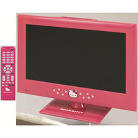 Hello Kitty 15 Inch LED TV with Remote
