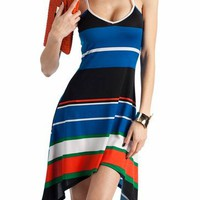 striped tank dress &amp;#36;20.70 in MULTI - Casual | GoJane.com