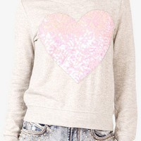 Sequined Heart Pullover | FOREVER 21 - 2000050173