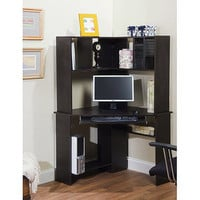 Morgan Computer Desk and Hutch Bundle