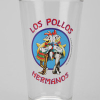 Breaking Bad Los Pollos Hermanos Pint Glass