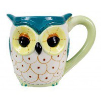 Green Owl Mug