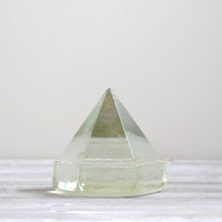 Vintage Ship Deck Prism Paperweight